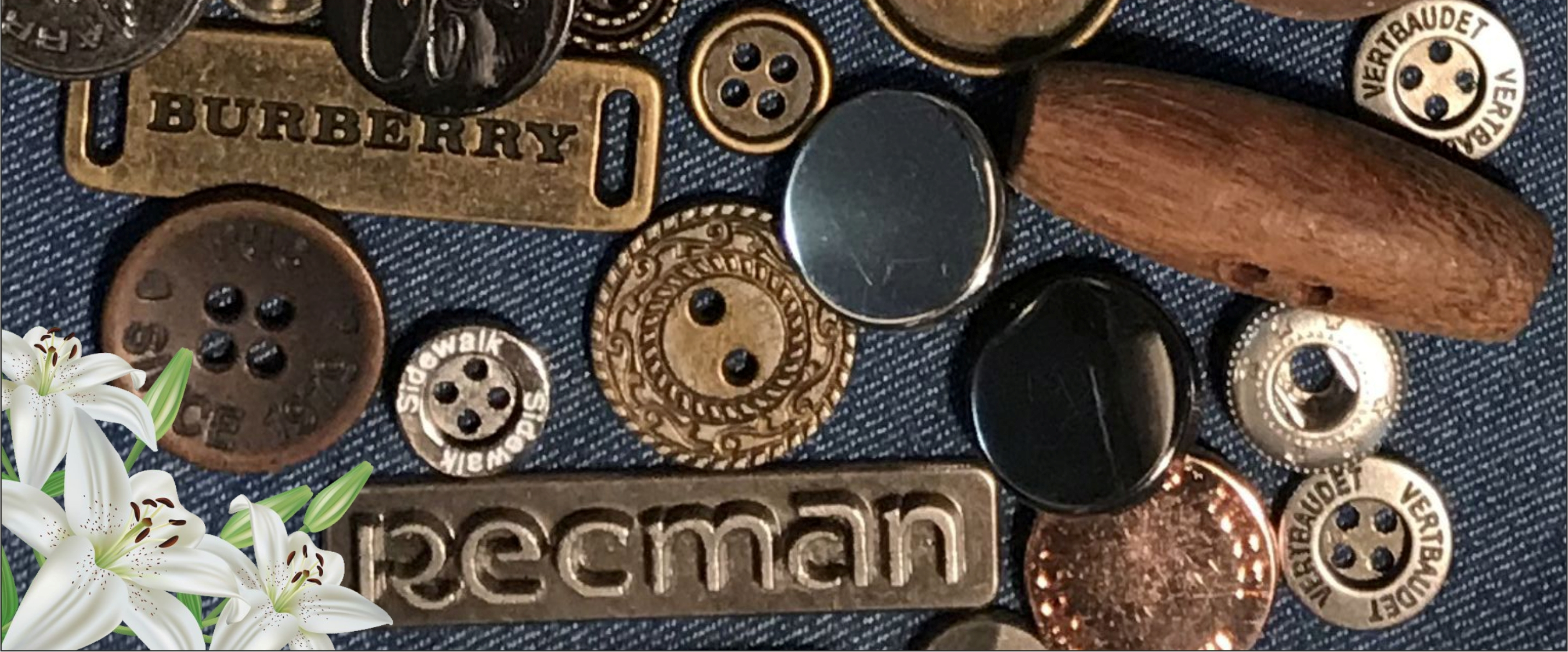 X Trim is for laces, buttons,zippers buckles, metal fastners & fashion accessories from India